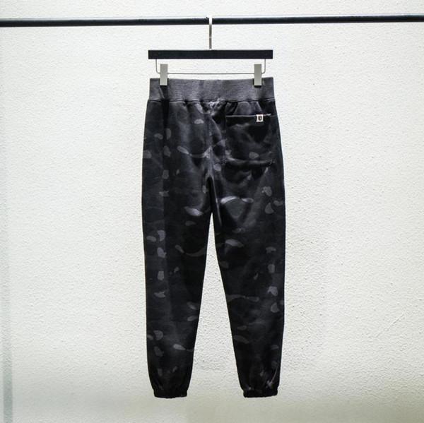 Sonbahar Kış Yeni Lover 5 Renkler Camo Spor Pantolon Pantolon Erkek Kadın Artı Kadife Pamuk Rahat Pantolon Ücretsiz Kargo