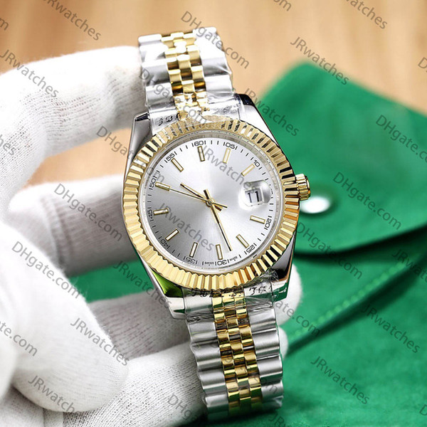 Silver gold white