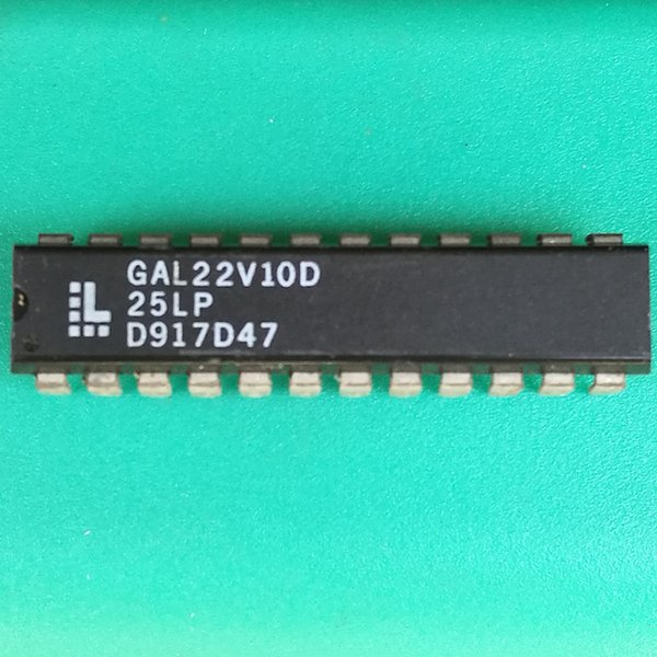 ATF22V10B ATF22V10B-15PC GAL22V10D DIP-24 Genuine electronic component quality assurance package on the machine