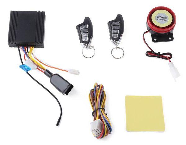 LM898FS Universal Remote Central Kit Water Resistance antifurto moto unidirezionale con 4 pulsanti di controllo remoto