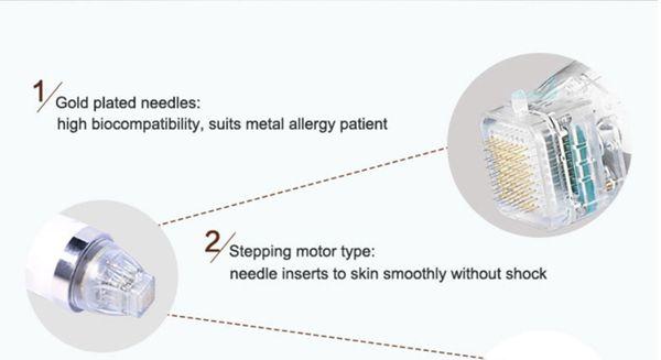 Cartuccia per microneedle frazionale razione macchina cicatrice rimozione trattamento smagliature smagliature rf ringiovanimento della pelle dhl libero