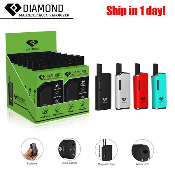 [1PC] Original Airis Diamant V11 Vaporizer Kits 280mAh Batterie Auto Vape Mod Kit Druckluft-Kit Premium-Vaporizer E-Zigaretten-Multi Farben