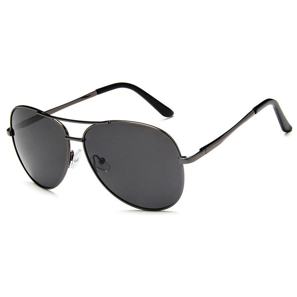 Men Classic Pilot Sunglasses Aviation Frame HD Polarized Sun glasses For Mens...