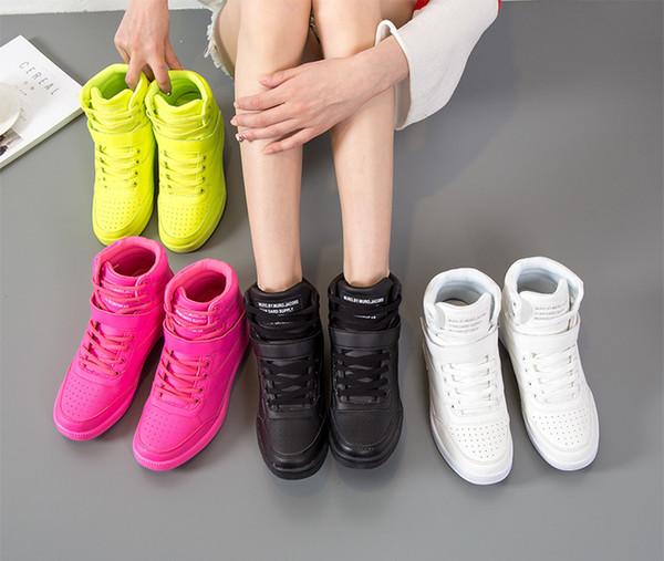 2019 economico e pratico sport casuale classico high-top scarpe casual multi-colore delle donne 35-40
