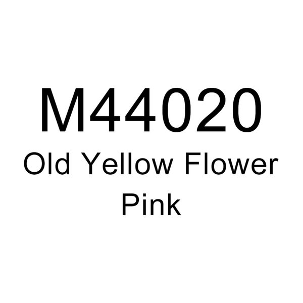 Старый Желтый Цветок-Розовый