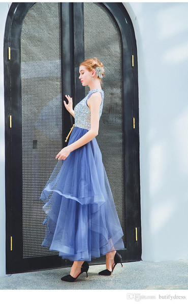 Marineblaue Brautjungfernkleider Reizvolle Abschlussball-Abschlussfeierkleider der hohen Qualität bueatiful Geburtstags-Abendessen-Partei-Kleid, das der Zeremonie des Alters kommt