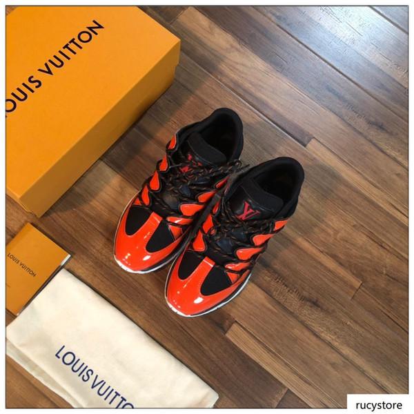 2020 Nouveaux FlashTrek Sneaker Top qualité Hommes Luxe Designers Chaussures Casual Designers de mode luxe Chaussures Hommes Chaussures Taille 38-45