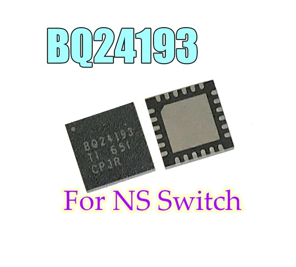 top popular BQ24193 Battery Management Charging Original IC Chips For NS Switch Console 2021
