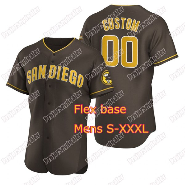 Brown Flex Base Mens S-XXXL
