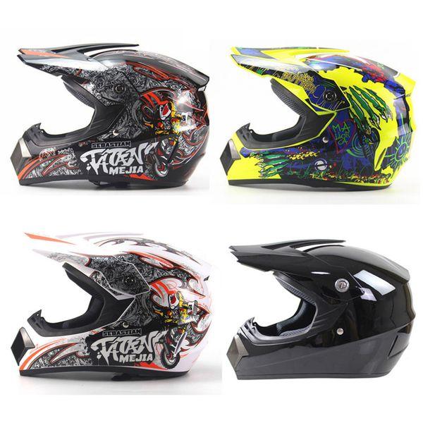 best selling Motor Helmet Motorcycle Half Helmets Full Face Offroad ATV Cross Racing Bike Motocross Moto Casco Off Road Capacetes