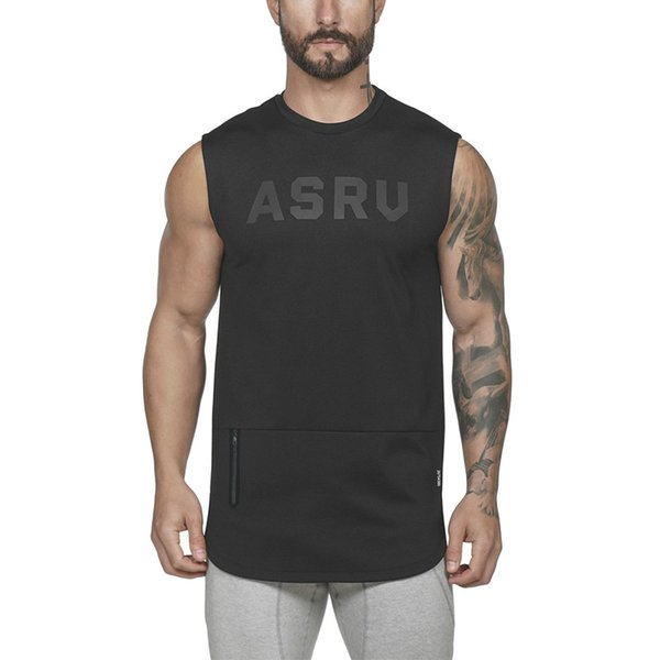 Mens Casual Fitness Sports Tank Tops For Male Plus Size Summer Gymnasium Sleeveless Singlests T-Shirts Vest Undershirt