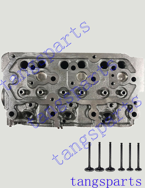 top popular New S3L2 Cylinder head with valves For Mitsubishi engine fit caterpillar 303GR 2006 2019