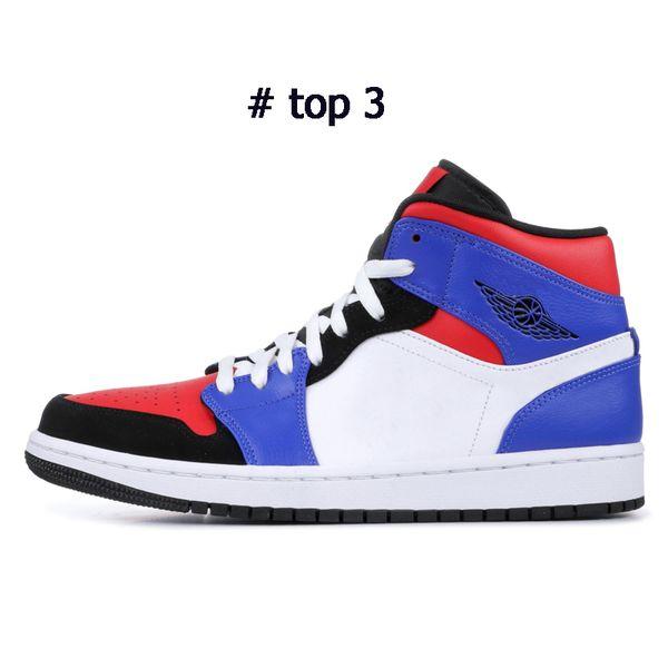 top 3 con simbolo negro