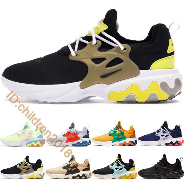 React Presto Brutal Honey Running Shoes For Men Women 2019 Brand Breezy Thursday Psychedelic Lava Dharma Rabid Panda Sneakers Size 7-11