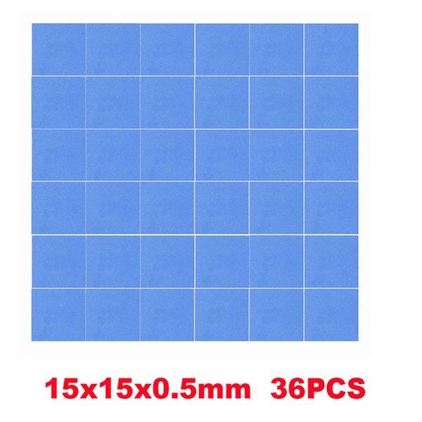 36PCS 15x15x0.5mm