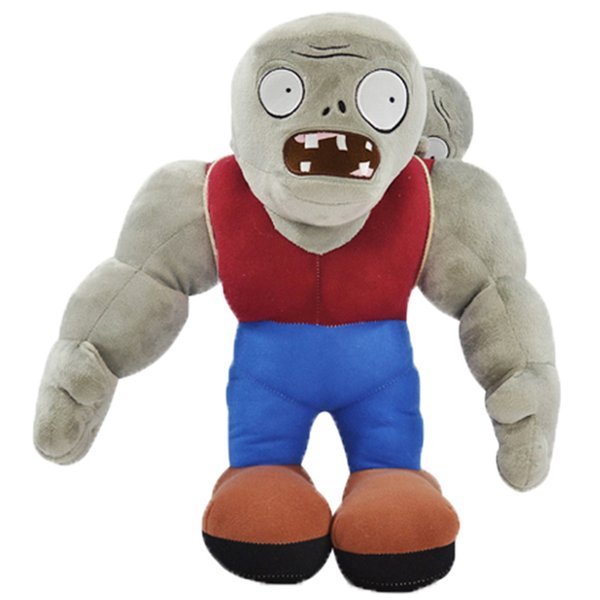 30cm Cartoon Plants Vs Zombies Gargantuar Zombie Plush Toys Pvz Gargantuar Plush Soft Stuffed Toys Doll Gifts For Kids Children Y19070103