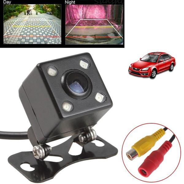 Mini Evrensel Araba Dikiz Kamera Su Geçirmez Geniş Açı Gece Görüş Araba Ters Dikiz Yedekleme Kamera Park Yardımı