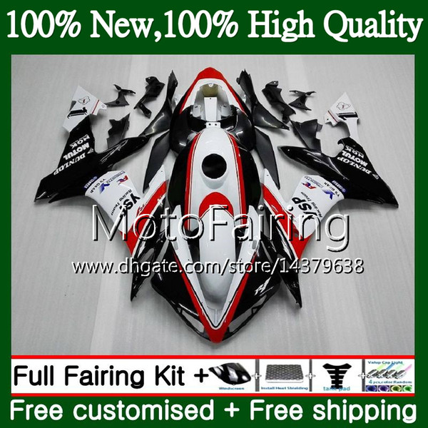 body for yamaha yzf r 1 yzf-1000 yzf 1000 yzfr1 04 05 06 97mf11 yzf1000 yzf r1 04 06 white black yzf-r1 2004 2005 2006 fairing bodywork