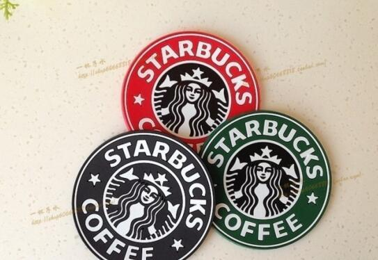 Starbucks Logo Mermaid Silicone Coaster Round Plate Mat Mugs Coffee Cup Mat Pad Table Decoration DHL Free