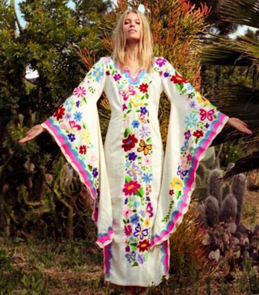 Hot Selling Women Evening Dresses Bohemian Evening Dress Butterfly Print  Amazon Hot Style Cross Border Autumn/Winter Dress Cheap Plus Size Evening  ...