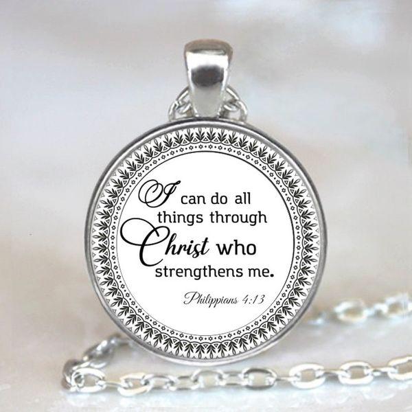 2019 New Christian Necklace - Bible Necklace - Christian Bible Scritture Collana regalo per i cristiani