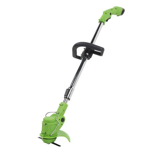Cordless Grass Trimmer Lawn Mower With Adjustable Handle Garden Grass Cutter Machine Power Trimmer 3000mAh Rechargeable Battery