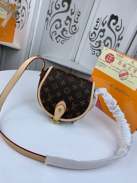 M55460 M55460 modern lady handbag single-shoulder bag Chain handbag lady's bag shell bag patent leather handbag
