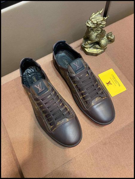 2019 hommes printemps et chaussures de sport d'automne, espadrilles de voyage, en cuir de haute qualité chaussures respirant occasionnels livraison rapide boîte originale
