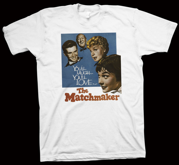 The Matchmaker T-Shirt Joseph Anthony, Shirley Booth, Anthony Perkins, Movie