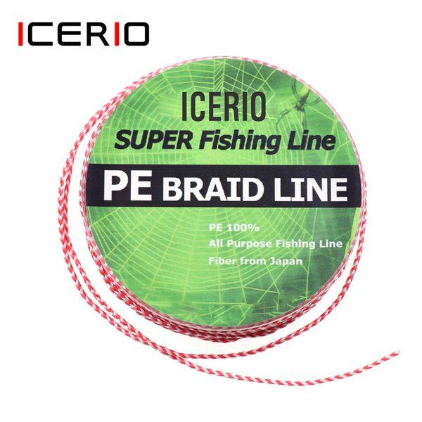ICERIO salata Assistent Hook amo Pesca Jig Hooks Lure intrecciata PE Legato linea di pesca Accessori
