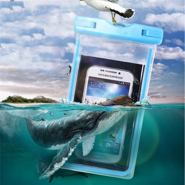 Swimming Bags Waterproof Bag Phone Case Swimming Beach Dry Bag Universal Transparent PVC Waterproof For 3.5-6Inch Cellphone A30
