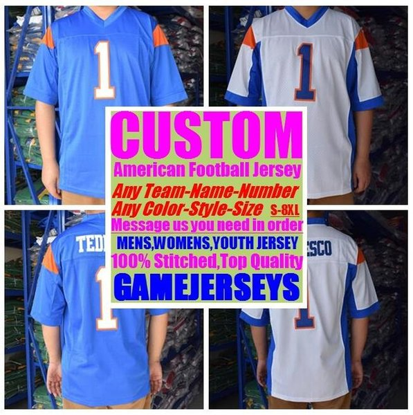 best selling Custom college american football jerseys mens womens youth kids soccer rugby stitched authentic jersey game elite color 4xl 5xl 6xl 7xl 8xl