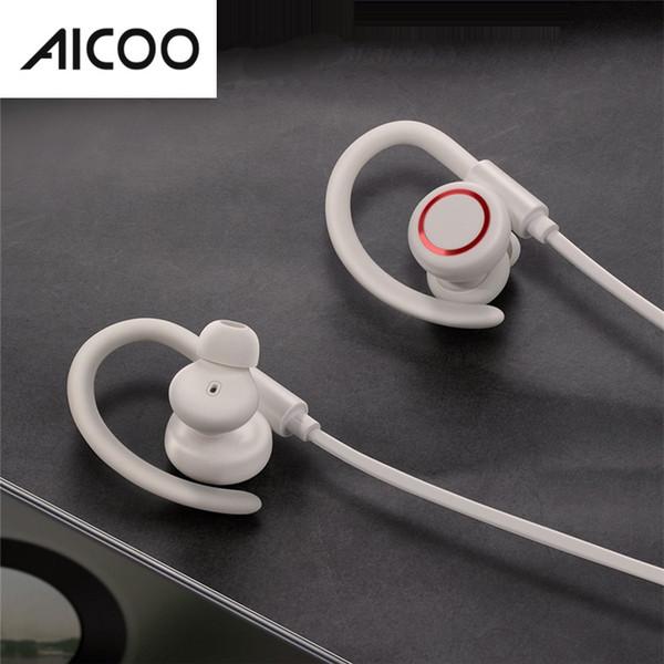 AICOO S17 Enock Stereo Sports Bluetooth 5.0 Headset Universal Ear Hook Baseus Waterproof Magnetic Earphone Headphone Retail Package