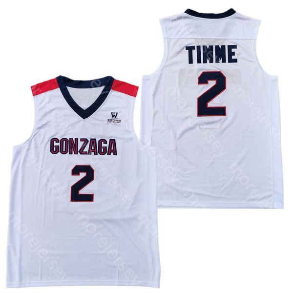 Jacob Larsen Gonzaga Bulldogs Basketball Jersey-Navy