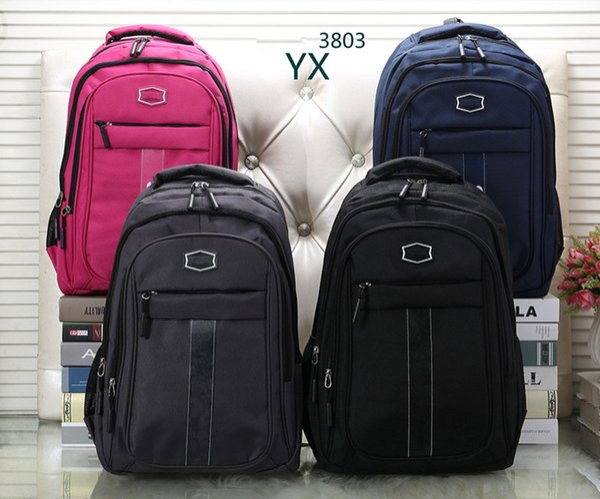 New Mens Womens Bag Markendesigner Fashion Canvas Sport Männer Frauen Rucksack Style Outdoor Rucksack Taschen AD3803