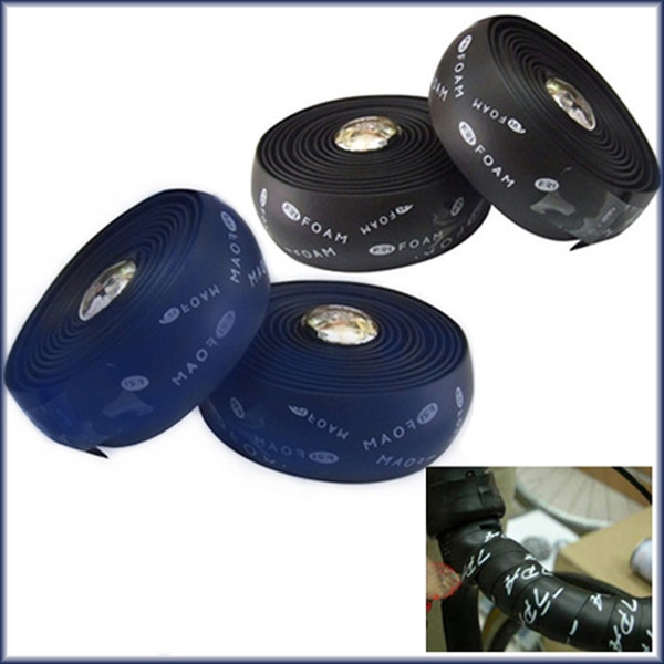 New Cycling Road Bike Sports Bicycle Cork Handlebar Wrap Tape with Bar Plugs new and high quality