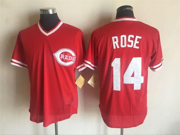14 Pete Rose Cincinnati Jersey