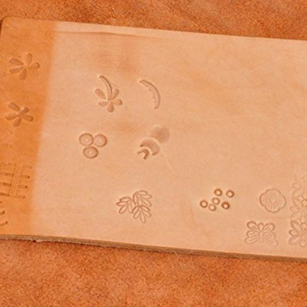 20pcs pelle fai da te con Le Gambe di lavoro che fanno gli attrezzi per la pelle Craft JS22 di lavoro