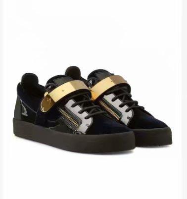 De alta qualidade frete grátis preto couro de grãos de crocodilo para homens e mulheres sapatos de alta-level moda tênis chaoliu my889604