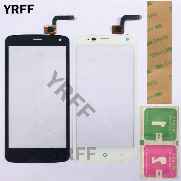 Mobile Touch Screen Digitizer Panel For ZTE Blade L2 Plus L370 C370 L2Plus Touch Panel Touchscreen Lens Front Glass Sensor Gift