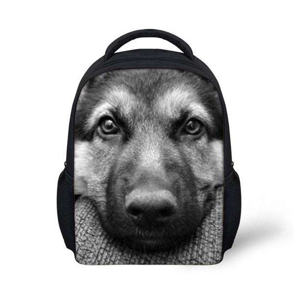Cool Wolf Pattern Mini School Bags For Boys Girls Schoolbag Kindergarten Baby Backpacks Kids Small Shoulder Book Bag Mochilas