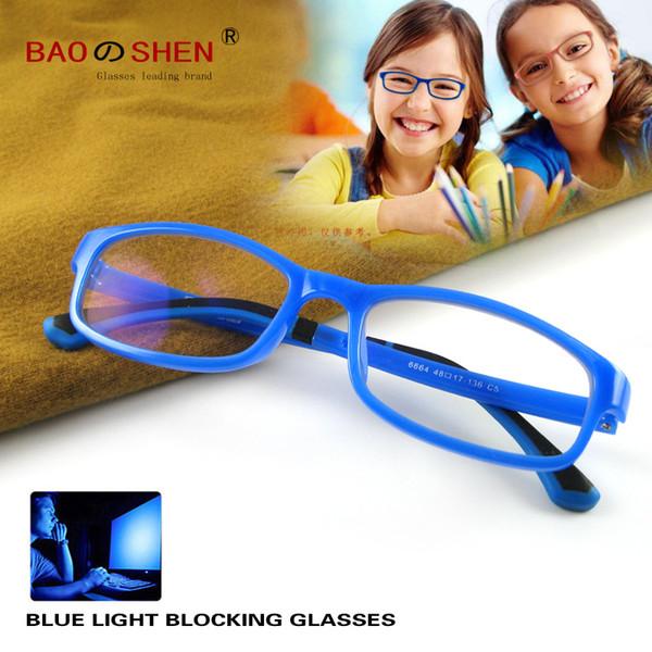 Kids Blue Light Blocking Glasses for Computers, Phones, TV, Video Gaming | Anti-Glare Optics for Eye Protection | Prevent Eye