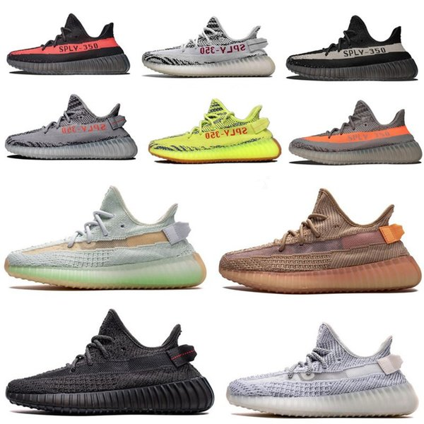 2020 yecheil yeezreel running shoes v2 reflective static