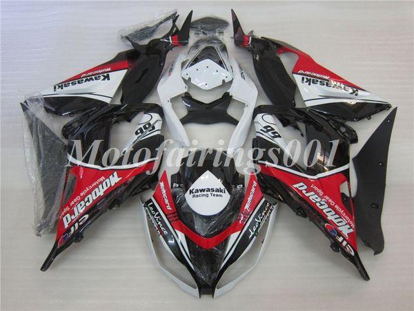 Calidad del OEM Nuevos kits de carenados de moldeo por inyección de ABS 100% aptos para Kawasaki Ninja ZX-6R ZX6R 599 2013 2014 2015 2016 2017 Juego de carrocería