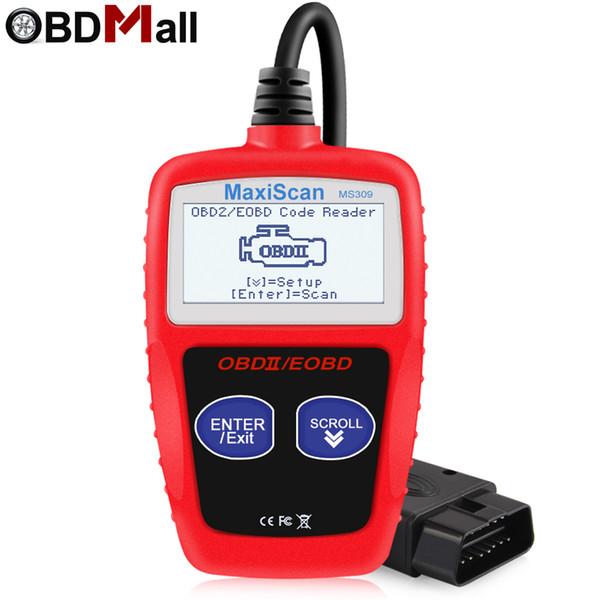 Original OBD2 Scanner MS309 Multi-lenguajes Escáner automotriz Herramienta de diagnóstico de motor ODB 2 EOBD MS309 Herramienta de escaneo de diagnóstico automático