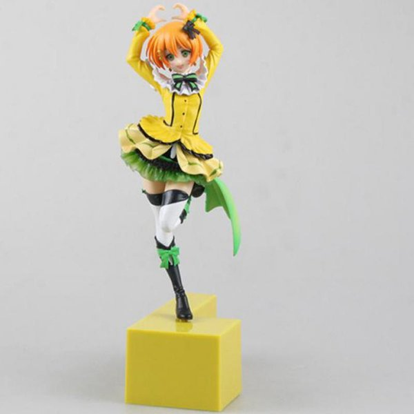 21cm Love Live Rin Hoshizora Birthday Project Action Figure Toys Collection Christmas Gift Pvc Model Collection Japanese Anime