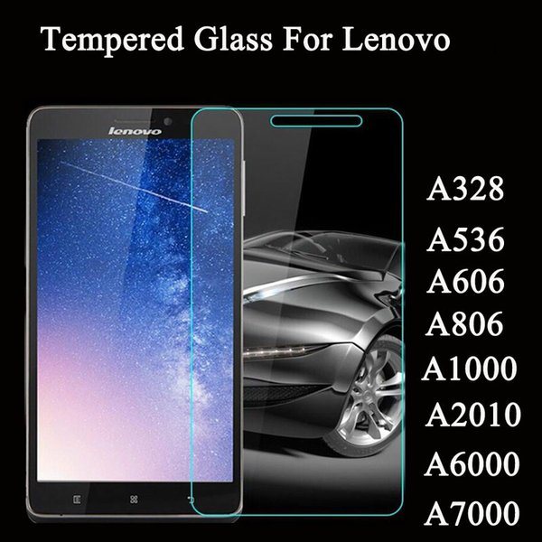 For Lenovo Vibe Z2 P780 P1M A328 A536 A806 A1000 A2010 A6000 Plus A7000 Screen Protector Film 9H Toughened Tempered Glass