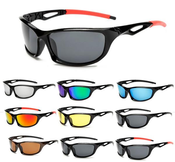 Spor Güneş Kamp Yürüyüş Gözlük Erkek Kadın Rüzgar Geçirmez UV400 Bisiklet Koşu Balıkçılık Golf Beyzbol Yürüyüş Gözlük 20