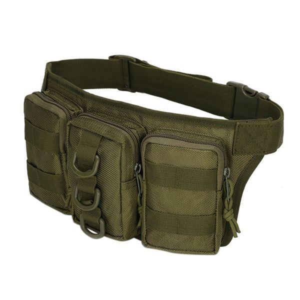 Yüksek kaliteli Avcılık küçük cepler askeri taktik kamuflaj çanta açık su geçirmez dağ yolculuğu spor çantası # 377415