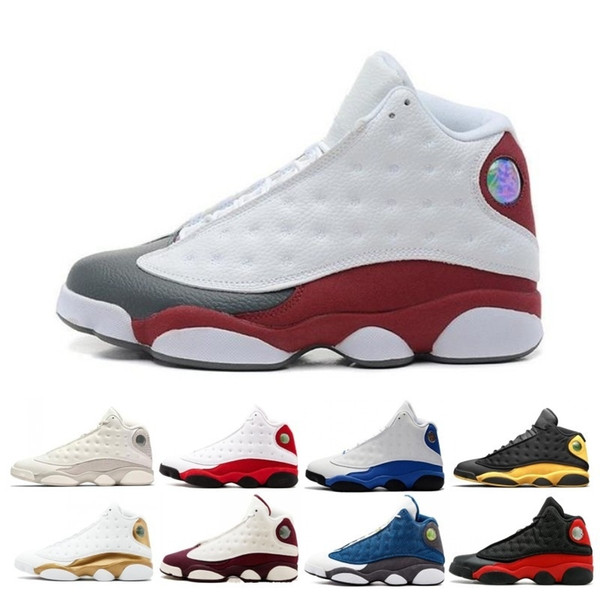13 13s Mens Basketball Shoes Phantom Chicago Black Cat Bred Pure Money Navy Wheat Hyper DMP He Got Game Barons sports sneakers